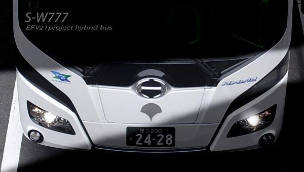都営バス S-W777 EFV21 ハイブリッドバス